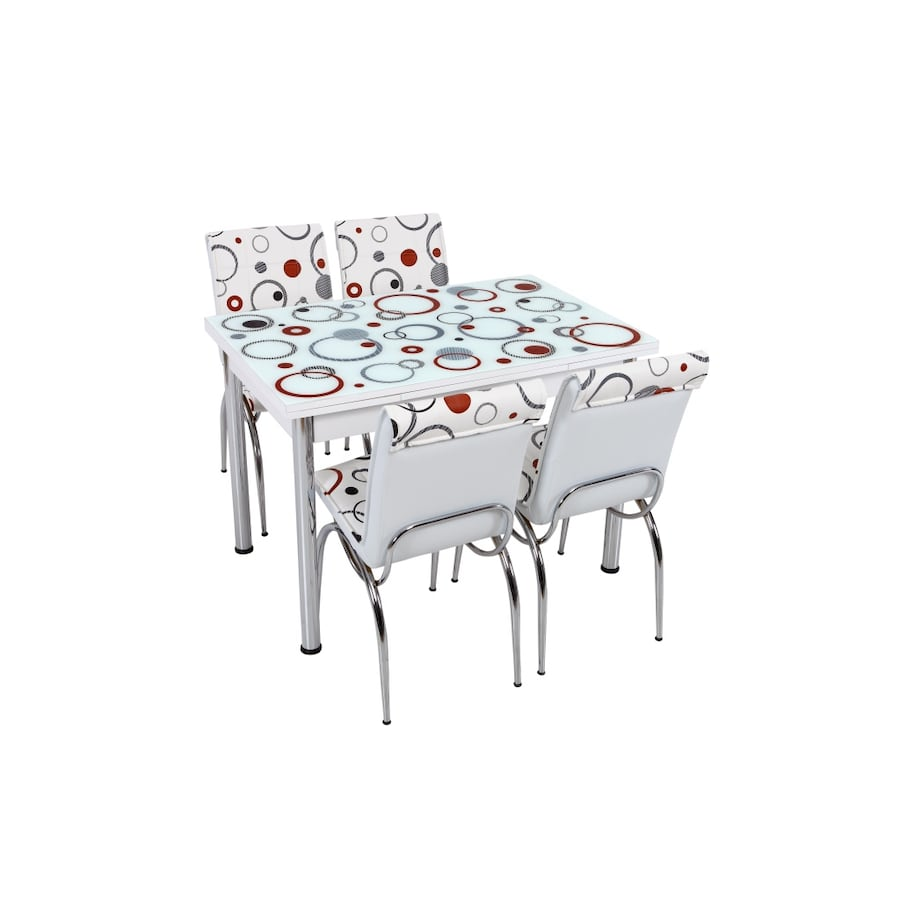 NEW 5 PCS KITCHEN TABLE SET CAN BE EXTENDED