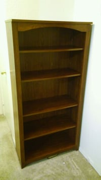 5-shelf bookcase brown Gilbert, 85296