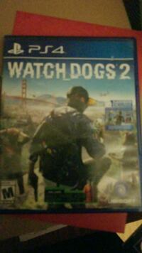 Watch Dogs 2 PS4 game case Springfield, 45503