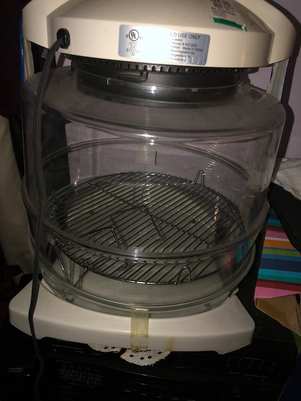 gray and black electric appliance