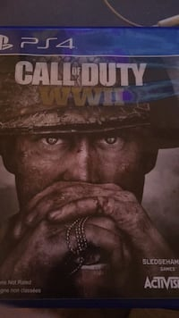 World warr II PS4 game Laval, H7M 3G2