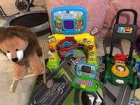 Lion, Vtech, Leapfrog, and Lawn Mower  Bradford West Gwillimbury, L3Z