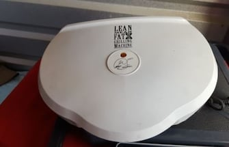 george foreman lean mean grilling machine