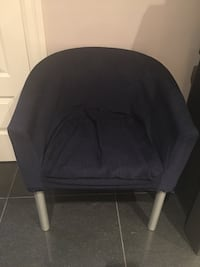 Chair blue fabric