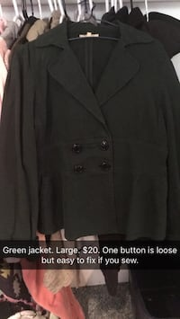 Green Jacket reduced price  Calgary, T2T