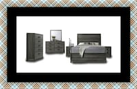 11pc Kate bedroom set with mattress Forestville