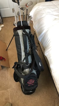Black and gray golf bag Falls Church, 22042