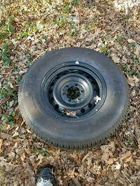 Like new tire and rim