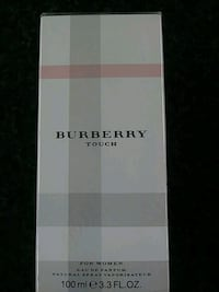 white and gray paper box. Brand new, never opened. Los Angeles, 90010