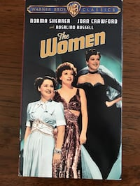 The Women VHS a Warner Bros Classic feat Norma Shearer, Joan Crawford, & Rosalind Russell (Black And White movie with technicolor sequences)  Nottingham, 21236
