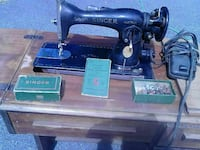 Antique Singer sewing machine 1940s