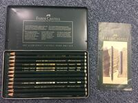 FABER CASTELL HIGH QUALITY GRAPHITE PENCILS SET OF 12 RARELY USED CHICAGO