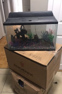 Fish tank with accessories  Toronto, M3A 1R1