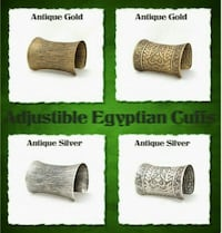 Egyptian style cuff Ontario, L6A 3P3
