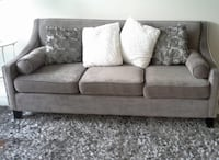2 grey and crystal sofas Toronto, M1T 1A8