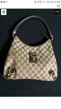 Gucci cloth Abby d ring shoulder hobo