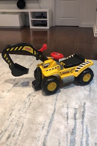 Fisher price construction truck