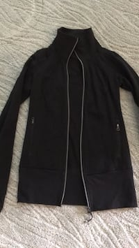 Sz 6 Womens Black Lululemon Glide Jacket  Ashburn