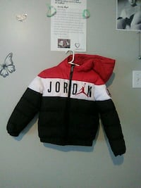 Children's size 5/6 Jordan winter coat serious inquiries only please Edmonton