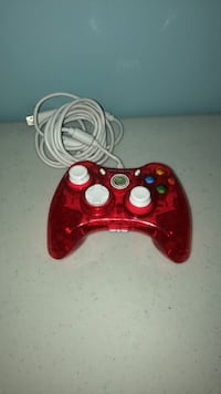 red and white Xbox 360 controller Edmonton, T6B 0Z5
