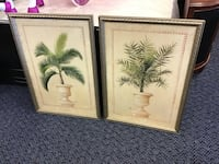 Tree and Vase Picture Framed Pair  Virginia Beach, 23462