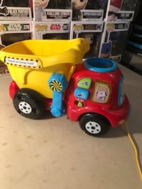 Drop and Go Dump Truck Vtech Toy NEW Age 6-36 Months( Learn Colors