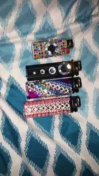 four assorted decorative disposable lighters Halifax, B4B 1T7
