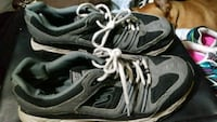 pair of black-and-gray Skechers running shoes Eugene, 97401