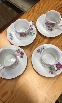 Tiny Teacups Set of 4 Norristown, 19401