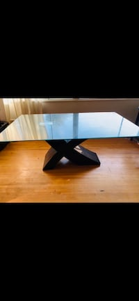 DINING TABLE WITH GLASS TOP Maple Ridge, V2X