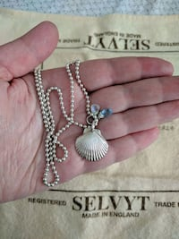 Silver shell pendant with chain Alexandria, 22309