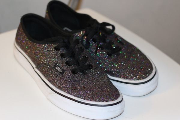 93c94d18cb2379 Used Vans Authentic Glitter for sale in San Francisco - letgo