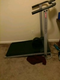 black and gray exercise equipment Raleigh, 27616