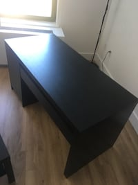 Black IKEA MALM desk New York, 10002