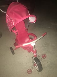 baby's pink and white push trike Lafayette, 70506