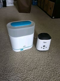 Avent electric sterilizer + Tommy Tippee Bottle - and breastmilk bags- warmer Arlington, 22202