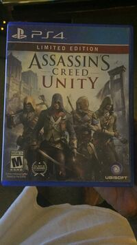 Assassin's Creed Unity Sony PS4 game Burlington, 05401