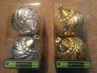 Sets of two holiday ornaments $4 each  Darien, 60527