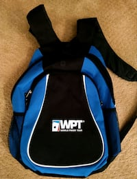 World Poker Tour backpack