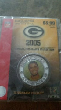 Packers official medallion collection Milwaukee, 53215