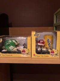 M & M's Desk Accessories $25 each  Vaughan, L6A 3Y7