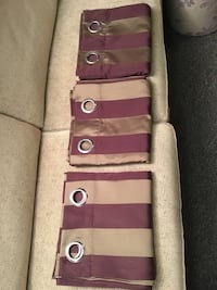 Lined drapes - 3 panels Newmarket, L3Y