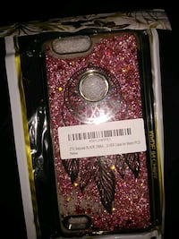pink and black glittered ZTE Zmax case San Diego, 92101