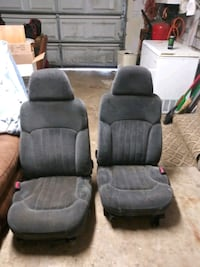 two gray fabric sofa chairs Ladson, 29456