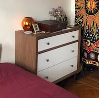 Harlow Mid Century Modern 3-drawer Dresser New York, 11220