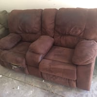 Two Seat Couch (tear on bottom right) ($10 Saturday Only) Las Vegas, 89148