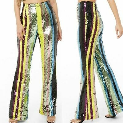 New Sequin Flare Pants 1