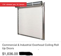 Industrial Coiling Roll Up Doors Phoenix, 85044