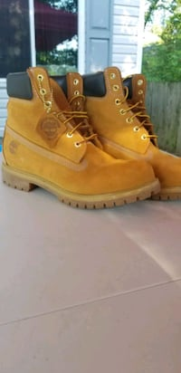Timberland boots hardly used Parkville, 21234
