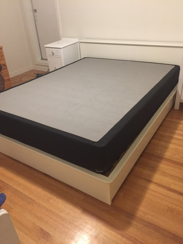 Black box spring and mattress